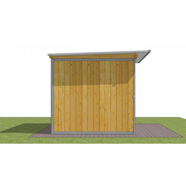 Abri de jardin en bois multi-usages