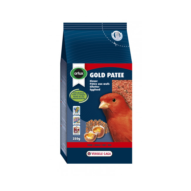 Alimentation Patee Gold Patee Rouge Orlux Versele Laga Pour Canaris Rouges