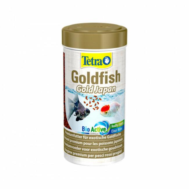 Alimentation Tetra Goldfish gold Japan 250 ml pour poissons