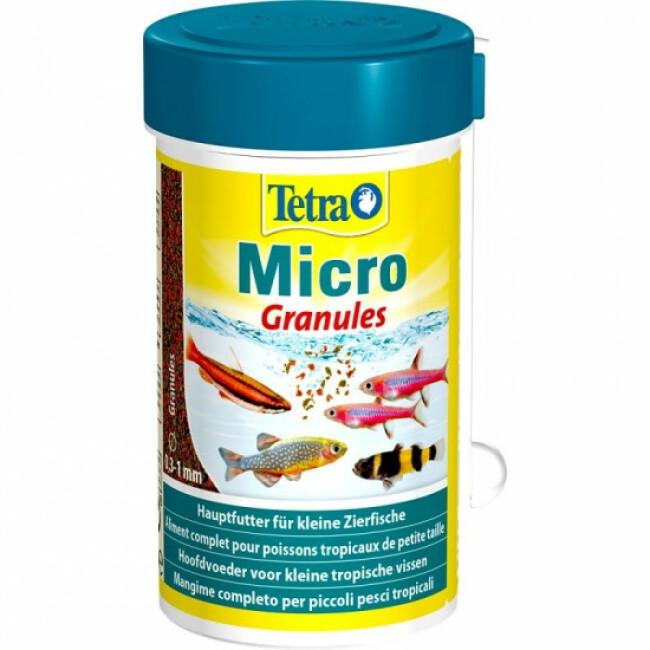 Alimentation Tetra Micro Granules 100 ml pour poissons