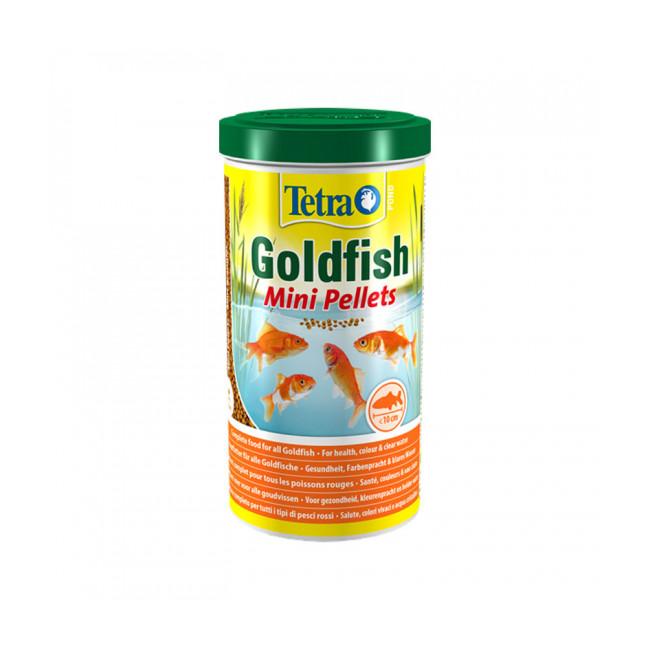 Alimentation Tetra Pond Goldfish Mini Pellets 1 litre pour poissons de bassin