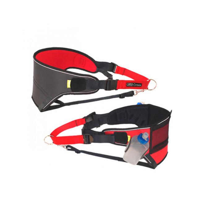 Baudrier canicross et ski-joering Centralaxe™ pour coureur avec chien