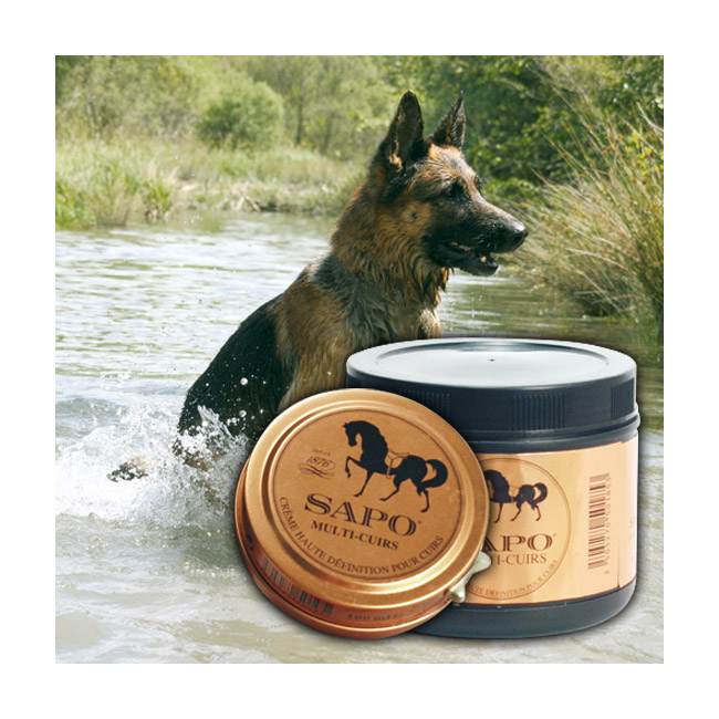 Baume multi-cuirs pour sellerie animale