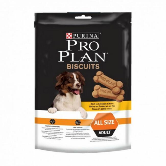 Biscuits Pro Plan pour chiens Poulet et Riz