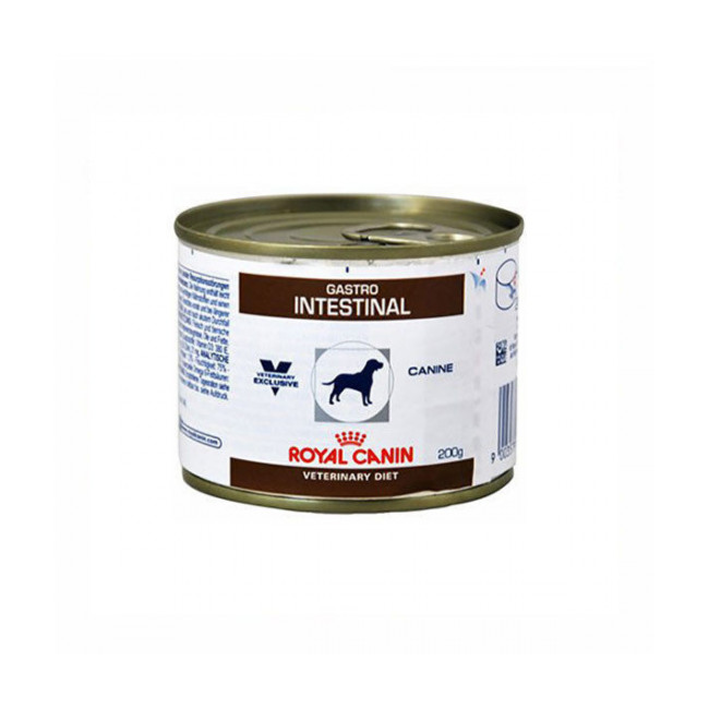 Boîtes Royal Canin Veterinary Diet Gastro Intestinal pour chiens 12 Boîtes de 200 g