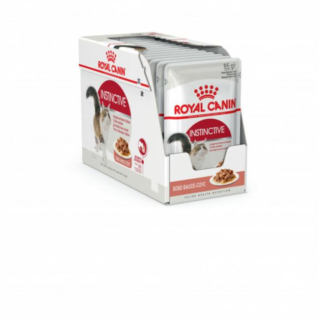 Bouchées pour chat Royal Canin Instinctive lot de 12 sachets 85 g