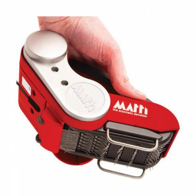 Brosse à démêler automatique professionnelle pour chien Matti