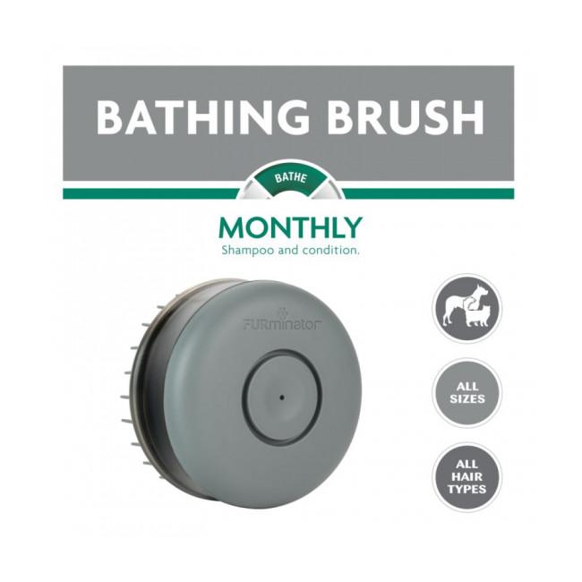 Brosse de bain pour chien et chat Furminator Bathing Brush
