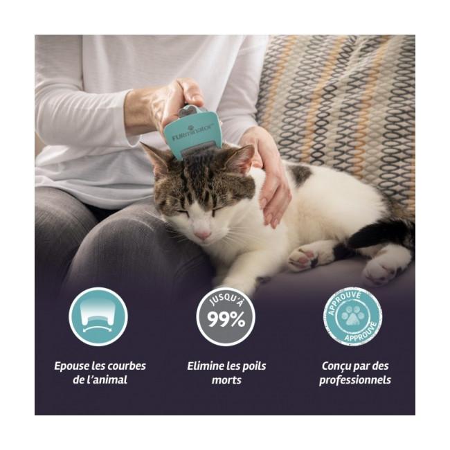 Brosse pour chat à poils courts Furminator
