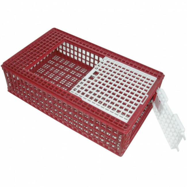 Cage de transport PVC pour volailles 95 x 57 x 24 cm Kerbl