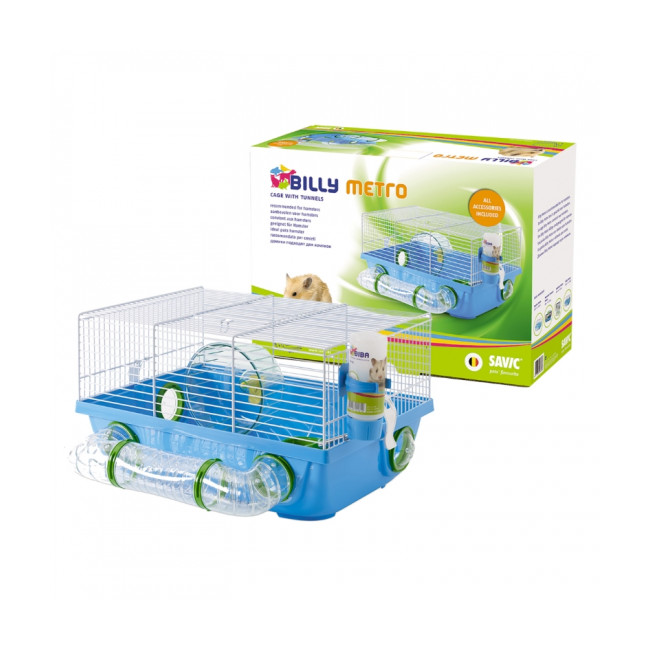 Cage pour hamsters Billy Metro Savic