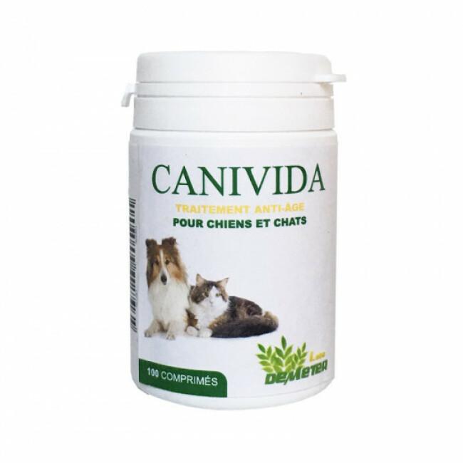 Canivida chien chat âgé traitement anti âge DHEA