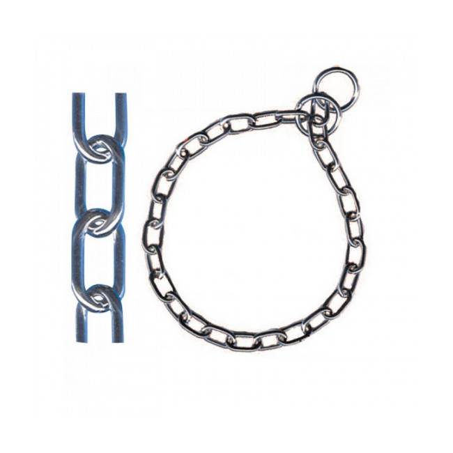 Collier étrangleur Sprenger avec chaîne acier pour chien