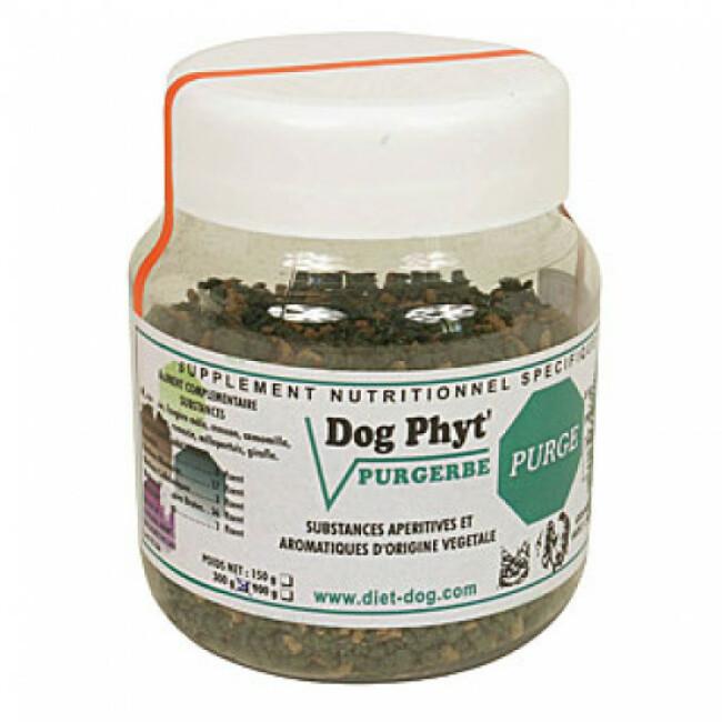 Complément nutritionnel aux plantes pour chiens et chats contre les parasites intestinaux Diet Dog
