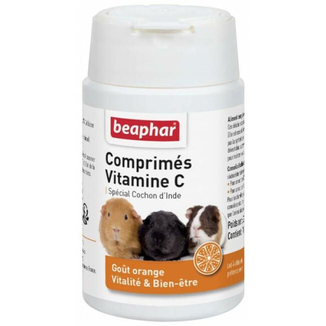 Comprimés de Vitamine C pour cochon d'Inde Beaphar