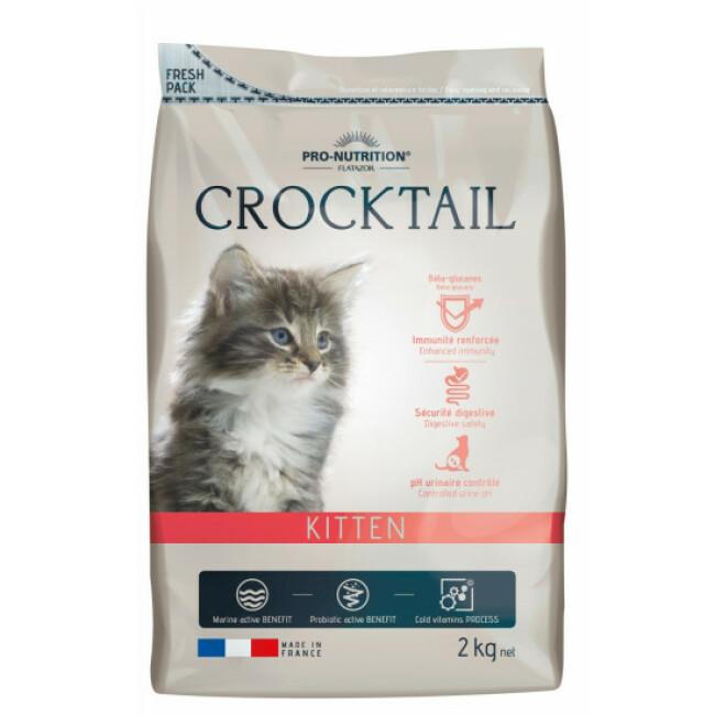 Croquettes Crocktail Kitten Flatazor Pro Nutrition pour chaton