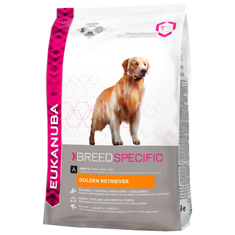 Croquettes Eukanuba Adulte Golden Retriever