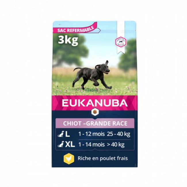 Croquettes Eukanuba Growing Puppy Grandes Races