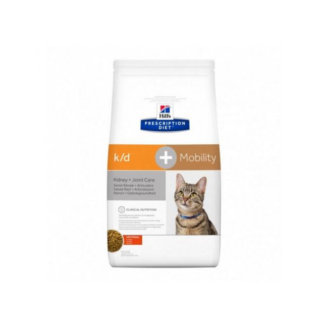 Croquettes Hill's Prescription Diet Feline K/D + Mobility