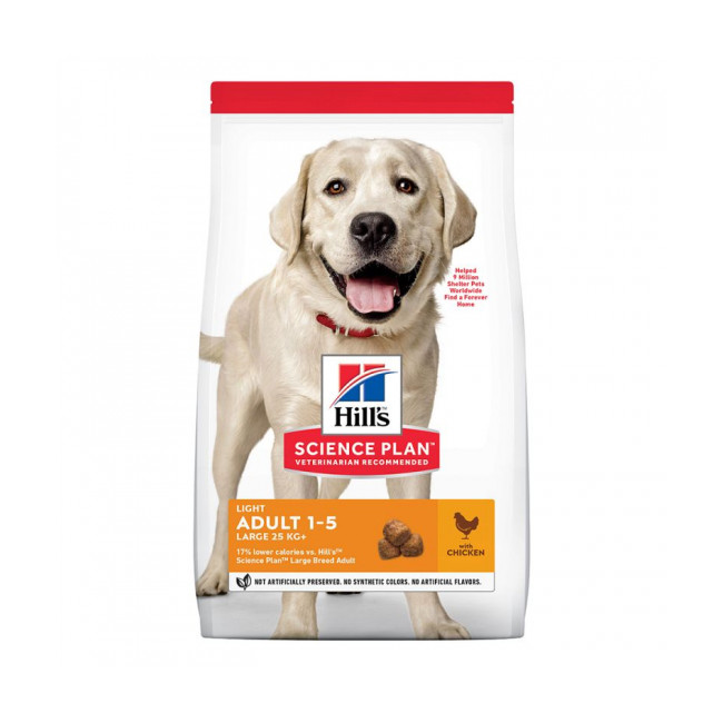 Croquettes Hill's Science Plan Canine Adult Light Large Breed