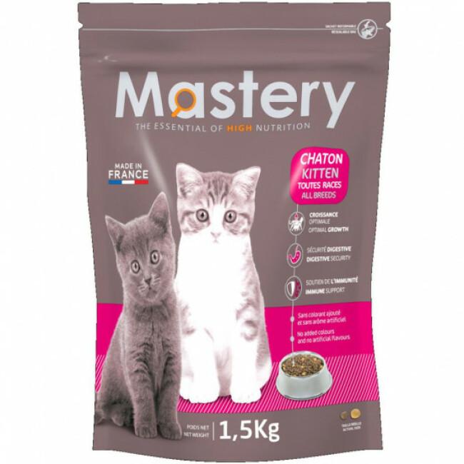 Croquettes Mastery pour chaton