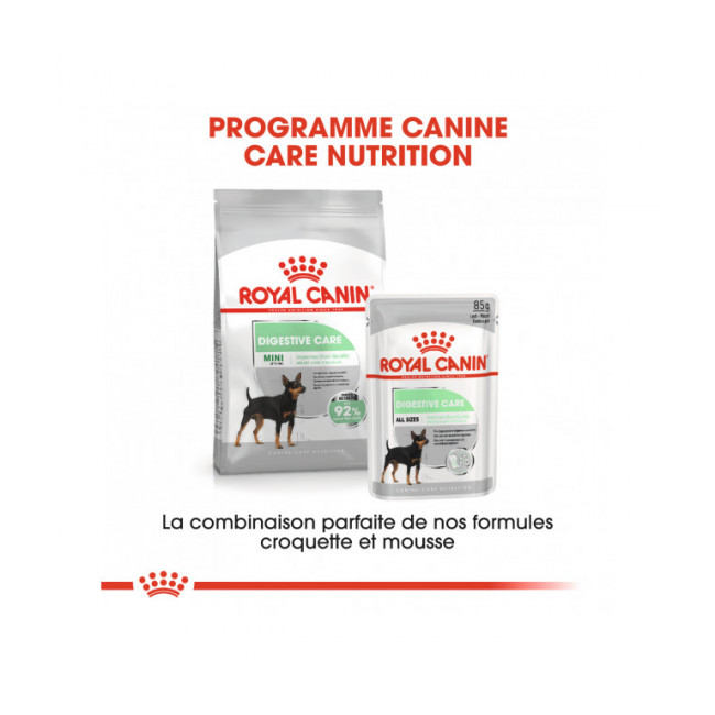 Croquettes Mini Digestive Care Royal Canin