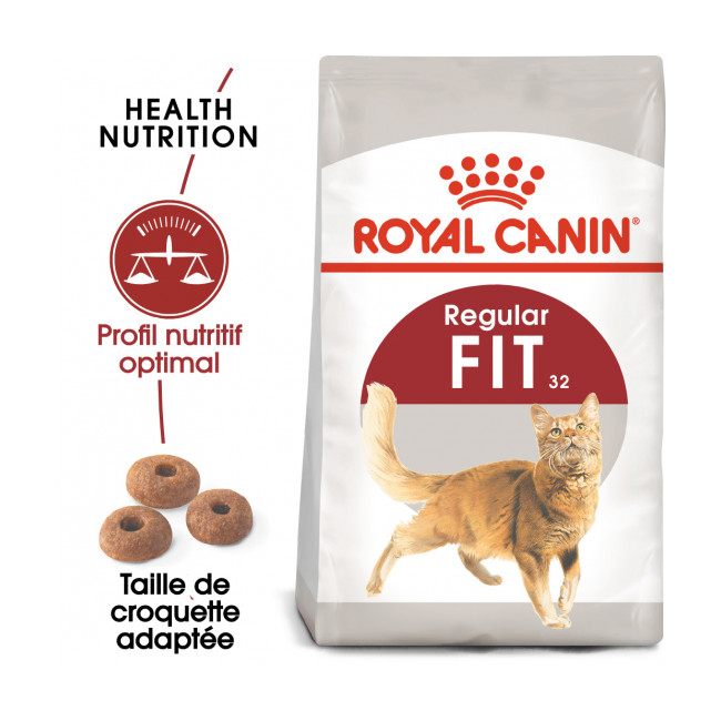 Croquettes Royal Canin pour chat adulte Fit