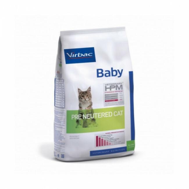 Croquettes pour chaton pré-stérilisé HPM Virbac