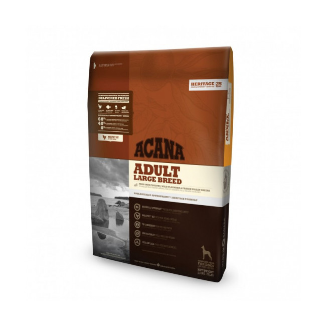 Croquettes pour chien adulte Acana Heritage Large Breed