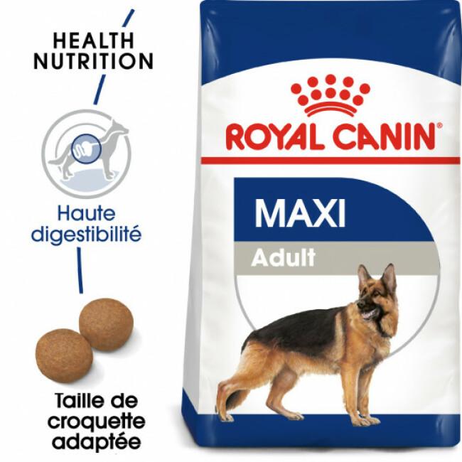 Croquettes pour chien adulte de grande race Royal Canin Maxi Adult