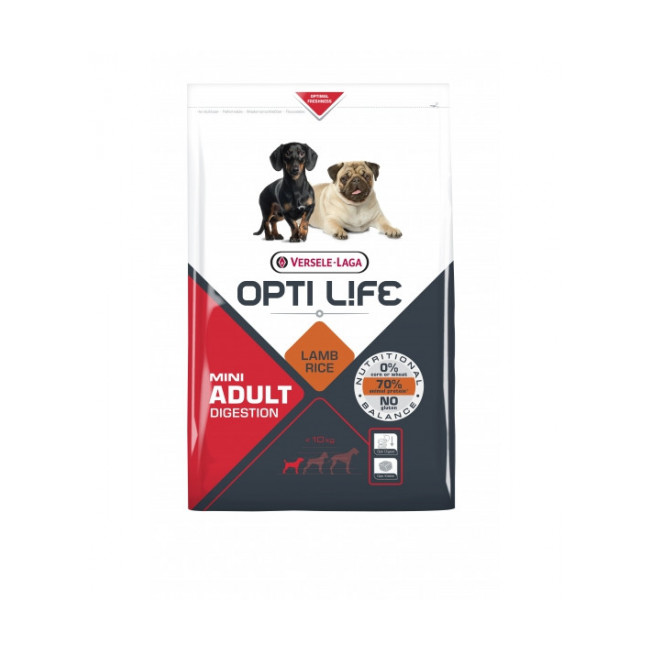 Croquettes pour chien adulte petite taille Opti Life Digestion