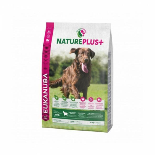 Croquettes pour chien adulte grande race Eukanuba Natureplus Agneau