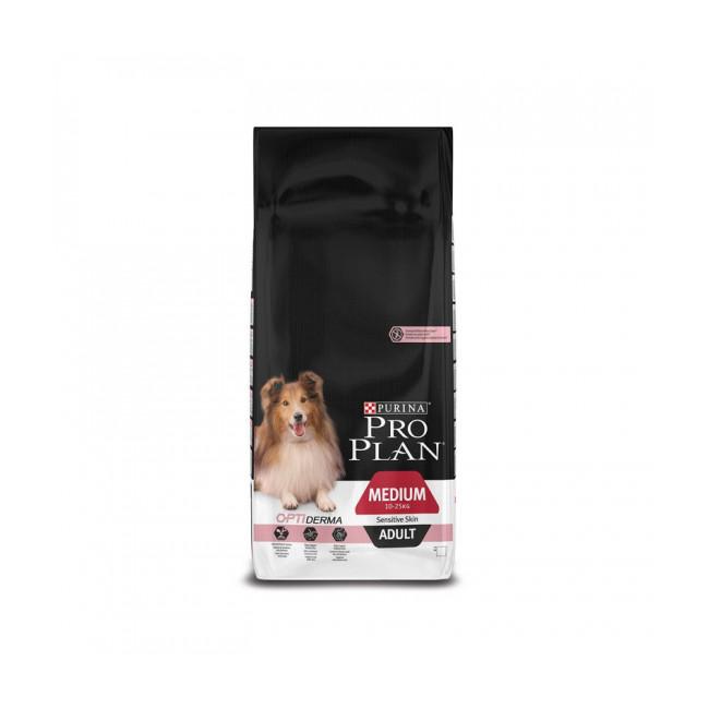 Croquettes pour chien adulte race moyenne Pro Plan Sensitive Skin OptiDerma