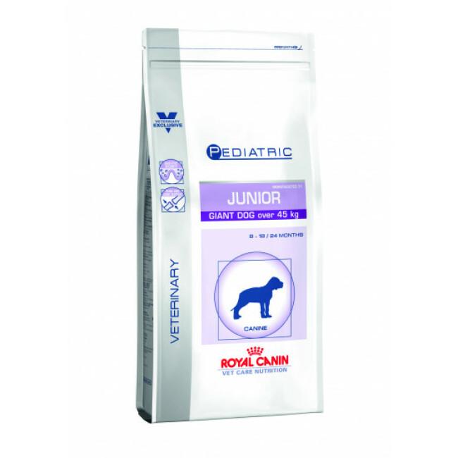 Croquettes pour chien junior de très grande race Veterinary Care Pediatric Royal Canin Sac 14 kg