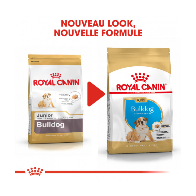 Croquettes pour chien junior Bulldog Anglais Royal Canin Puppy