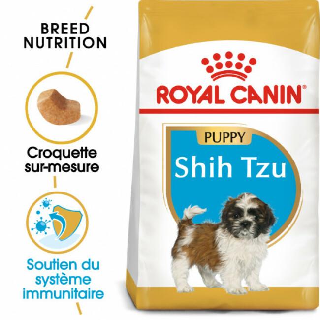 Croquettes pour chien junior Royal Canin Shih Tzu 28 Sac 1,5 kg