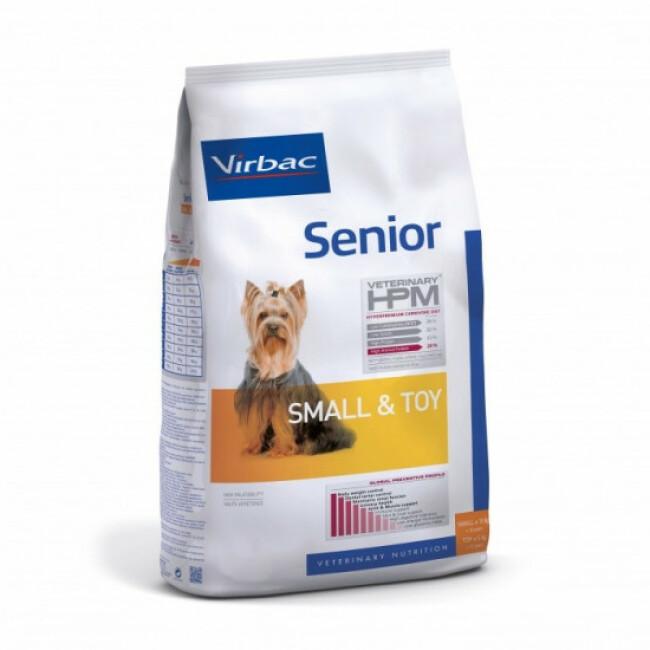 Croquettes pour chien senior HPM Senior Small & Toy Virbac