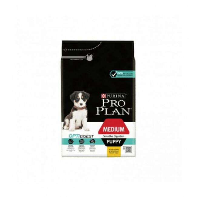 Croquettes pour chiot Pro Plan Medium Puppy Sensitive Digestion OptiDigest