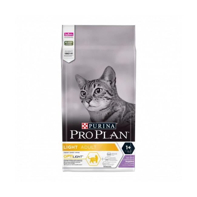 Croquettes Pro Plan Light chat adulte à la dinde