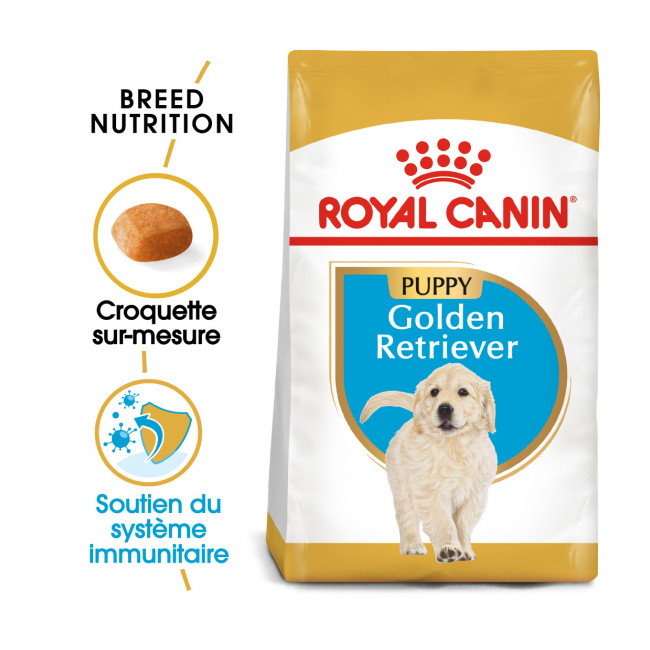 Croquettes Royal Canin Golden Retriever Puppy