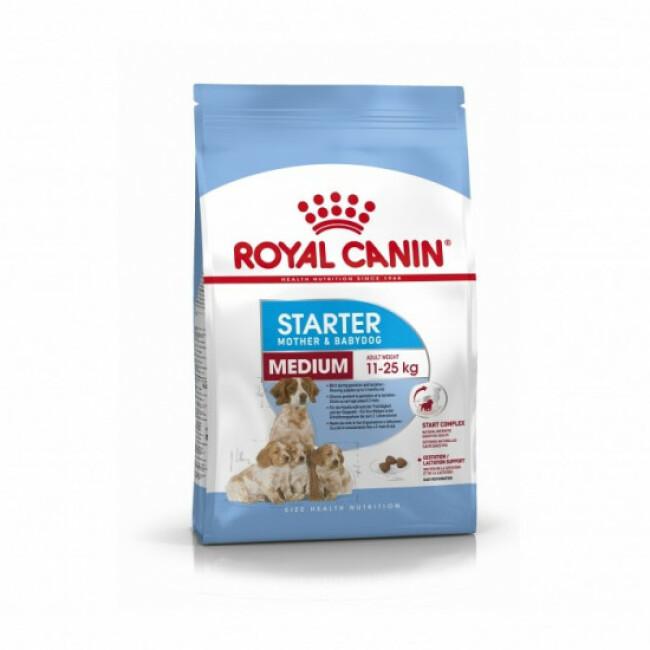 Croquettes Royal Canin Medium Starter Mother & Babydog
