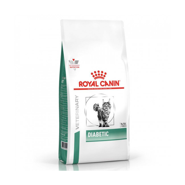 Croquettes Royal Canin Veterinary Diet Diabetic pour chats