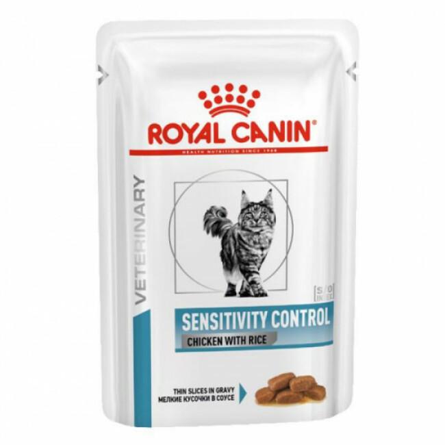 Croquettes Royal Canin Veterinary Diet Sensitivity Control pour chats