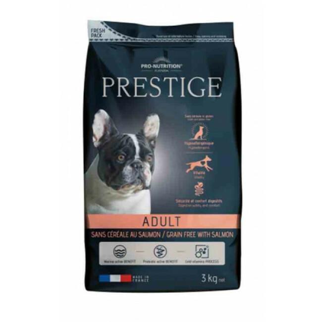 Croquettes sans céréales au saumon pour chien Prestige Flatazor Pro-Nutrition