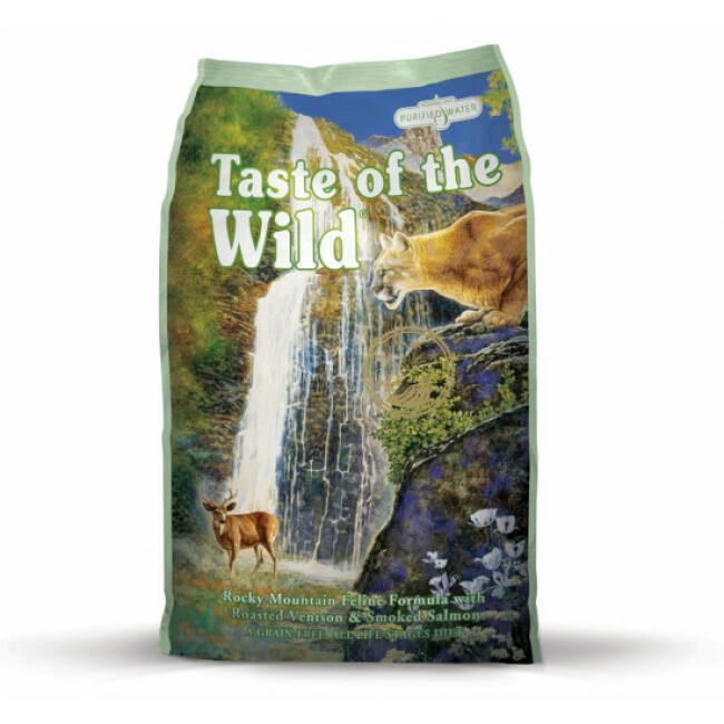 Croquettes sans céréales pour chat Rocky Mountain Feline Taste of the Wild