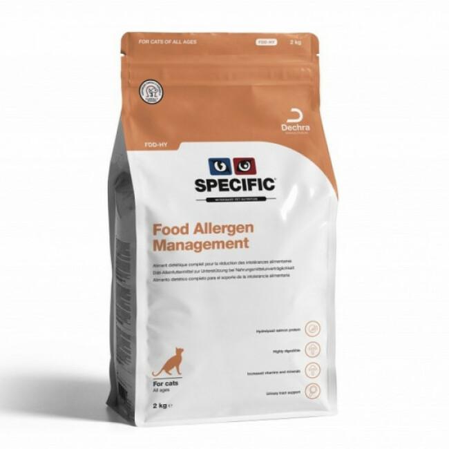 Croquettes Specific pour chats FDD-HY Hypoallergénique Management Sac 2 kg