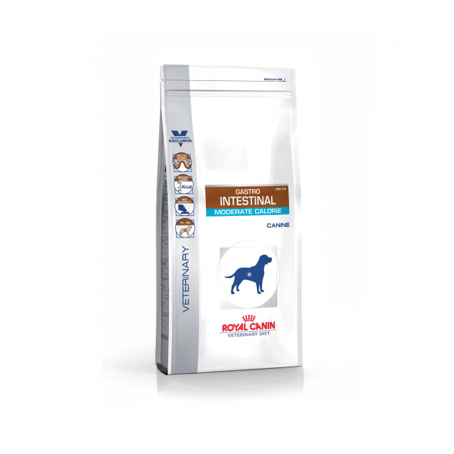 Croquettes Veterinary Diet Gastro Intestinal Moderate Calorie pour chien Royal Canin