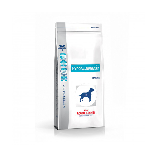 Croquettes Veterinary Diet Hypoallergenic pour chien Royal Canin