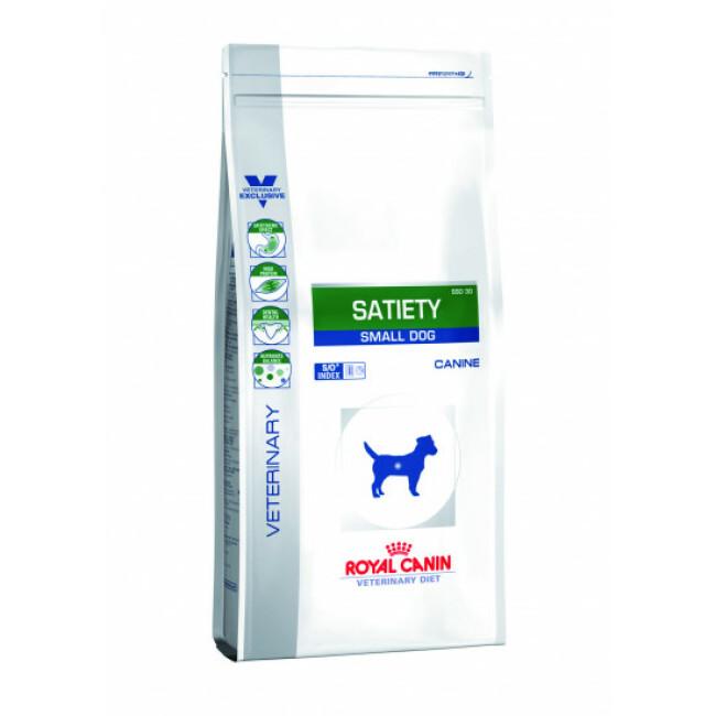 Croquettes Veterinary Diet Satiety pour chien de petite race Royal Canin
