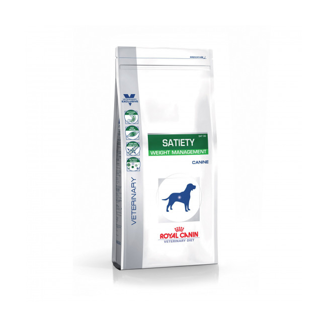 Croquettes Veterinary Diet Satiety Support pour chien Royal Canin